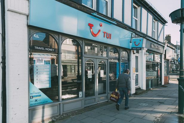 Tui Travel agents at the Rayleigh Quarter