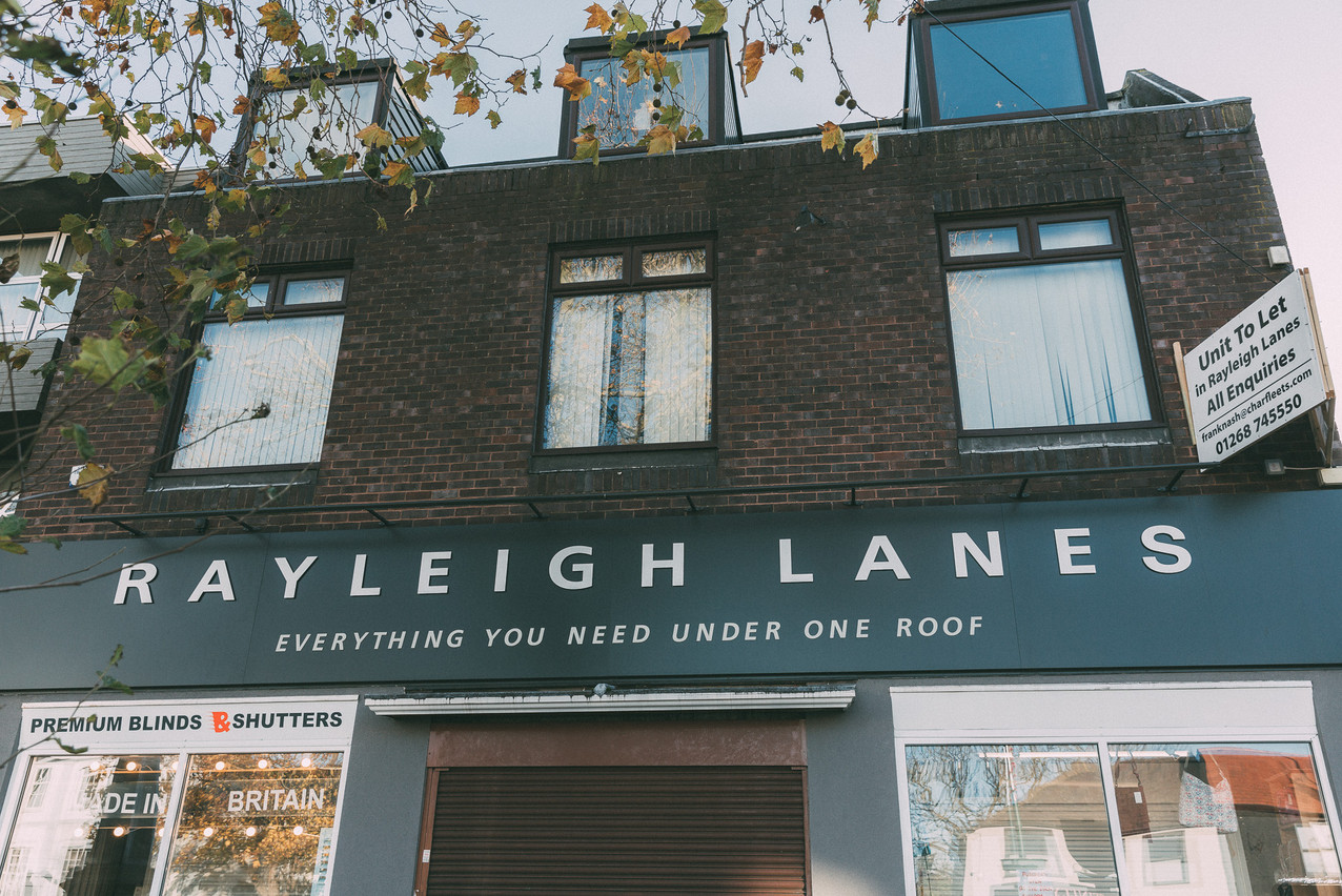 The Rayleigh Lanes shopping experience