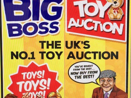 The big boss toy auction you know & love is BACK!!!