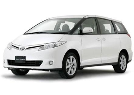 minivan 8 seater rental