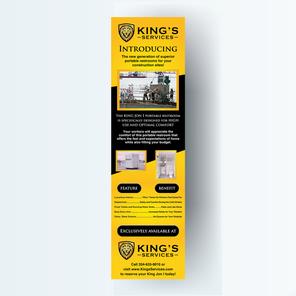 Floor-stand banner design