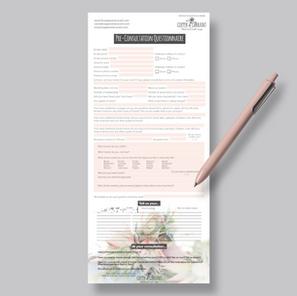 Fillable PDF questionnaire