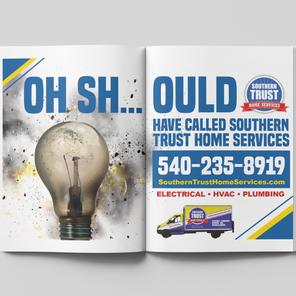 Bi-page Yellow Book ad