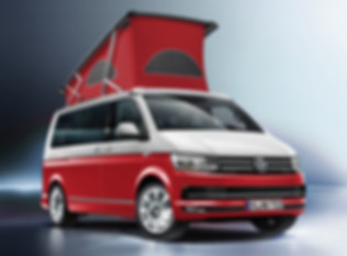 Red and White two tone VW California.jpg