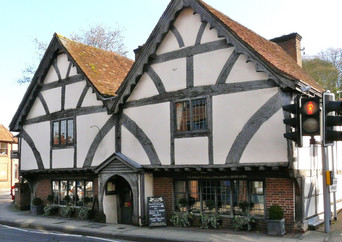 A charming place to eat in Winchester.jp