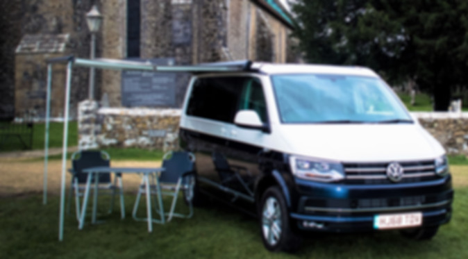 VW California Ocean with awning