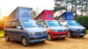 VW Campervans for hire Winchester