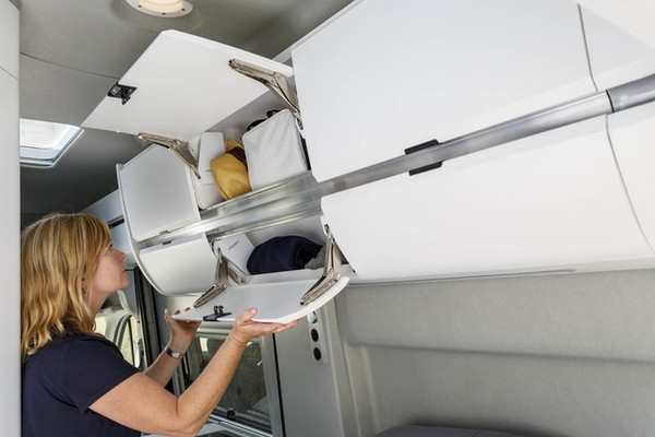 VW Grand California Storage