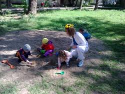 детские прогулки в мае