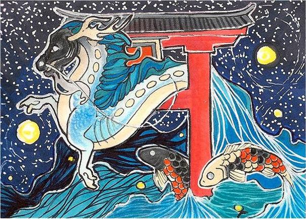 aceo___the_dragon_gate_by_awaicu_d5xjmnd