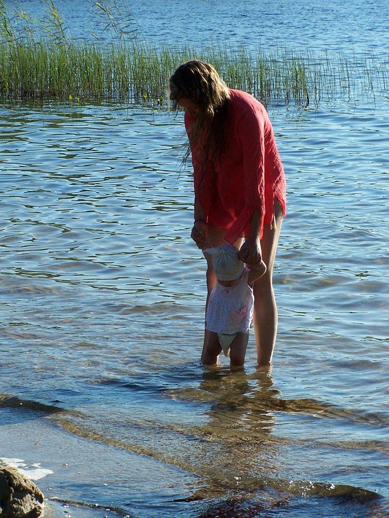 озеро для малышей