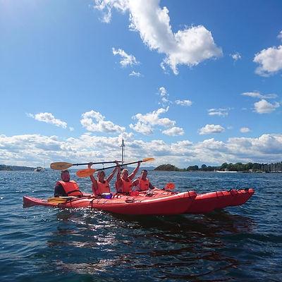 Oslo Eco Kayak Tour