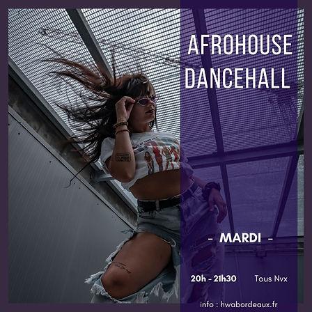 Cours de danse afrohouse, dancehall sur Bordeaux