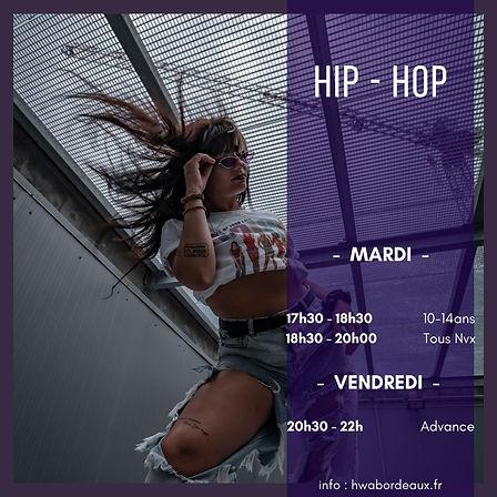 Cours de danse hip hop sur Bordeaux