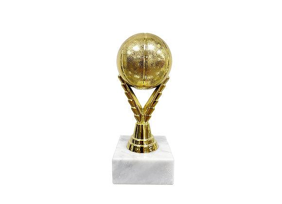 "גביע כדור כדורסל מלא גובה 20 ס""מ"