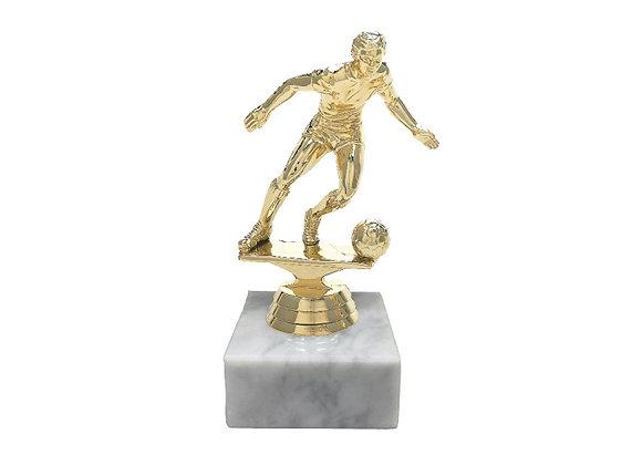 """גביע כדורגלן גובה 17ס""""מ"""