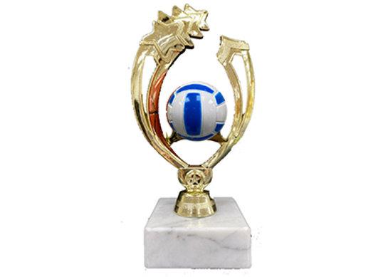 גביע מגן כדורעף/כדורשת צבעוני מלא