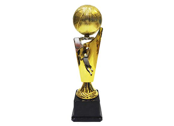 """גביע זהב כסף כדורסל גובה 32 ס""""מ"""
