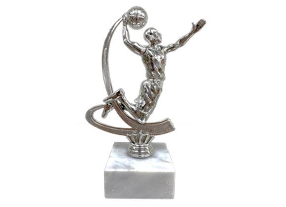 גביע דמות כדורסלן כסף