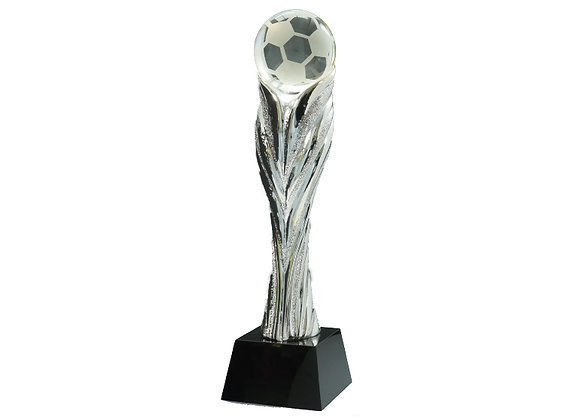 מגן כדורגל רזין קריסטל כסף
