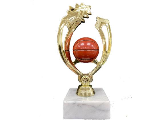 גביע מגן כדורסל צבעוני מלא
