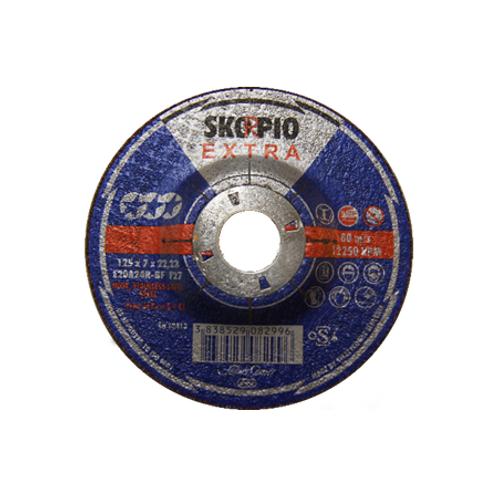 SLIPESKIVE Skorpio Extra 125x7x22,23, 80 m/s, 12250RPM