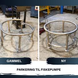 PARKERING TIL FISKEPUMPE