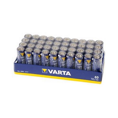 Varta Industrial AA /  LR6 Batteri - 40-pakning