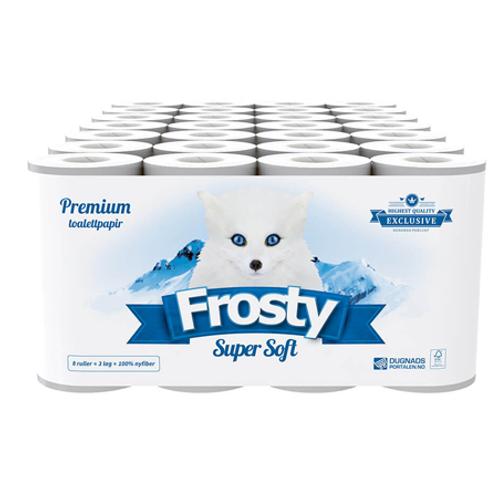 ToaPapir Frosty Supersoft 3-L. 56rll.
