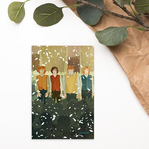 Hobbitses Postcard