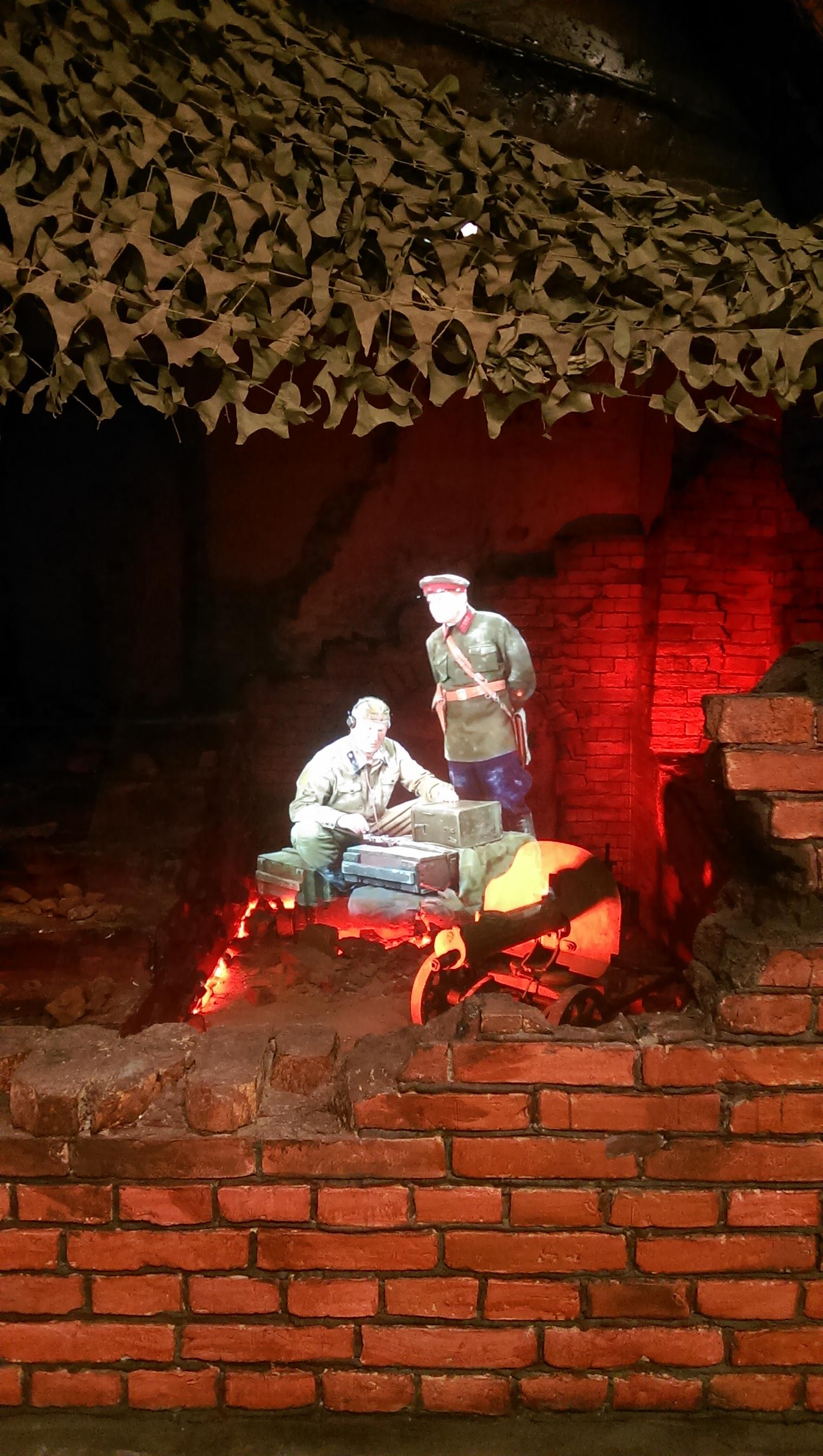 Бойцы с пулемётом Максим