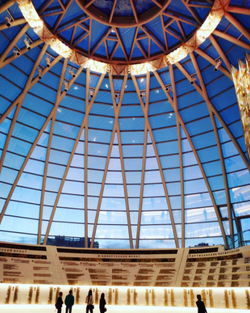 Крыша купол