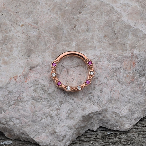 BVLA Solid Rose Gold Violet - 16g 5/16""