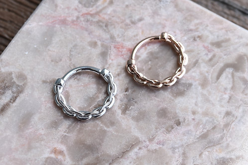 The Anchored Ring 16g 3/8