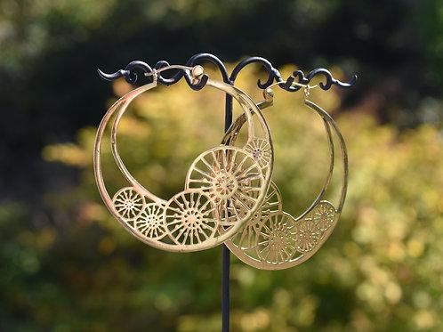 Wheel Hoops Yellow Gold