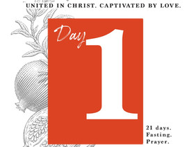 DAY 1 - DREAM OF THE FATHER'S HEART