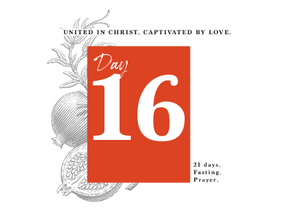 DAY 16 - LOVE THAT ENDURES