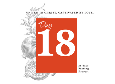 DAY 18 - WHERE IS MY BELOVED?