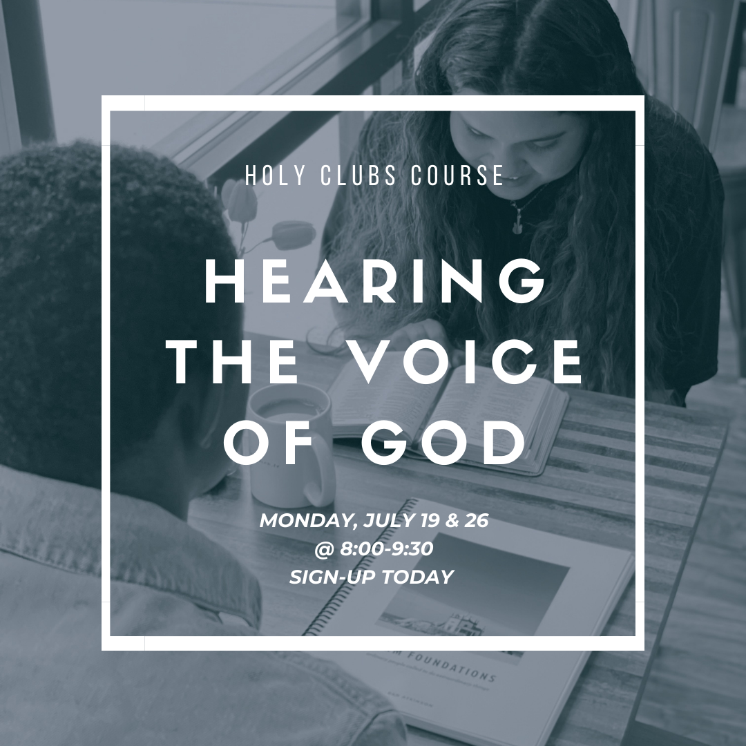 HEARING THE VOICE OF GOD (COURSE)