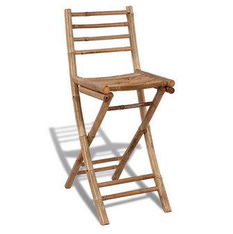 chaise de bar bambou