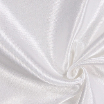 drapé blanc satin n°26 au mètre
