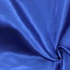 Drapé bleu satin au mètre