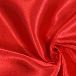 drapé rouge n°8 satin au mètre
