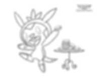 Chespin coloring page.png