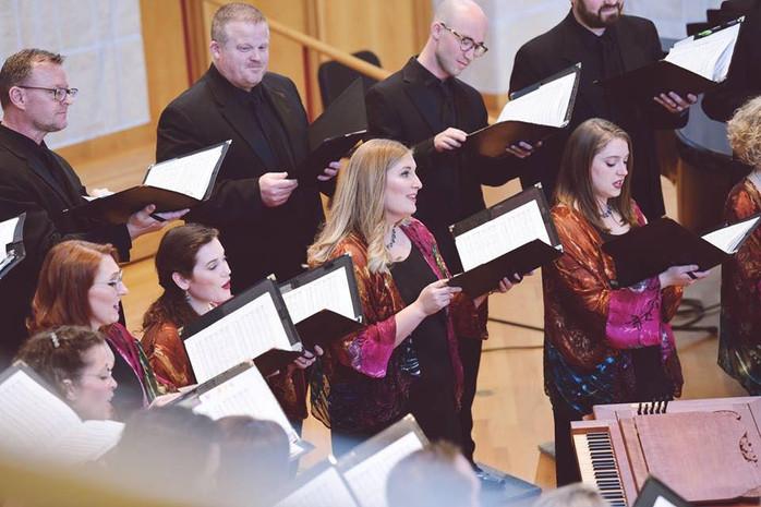 Enjoying another beautiful Phoenix Chorale concert