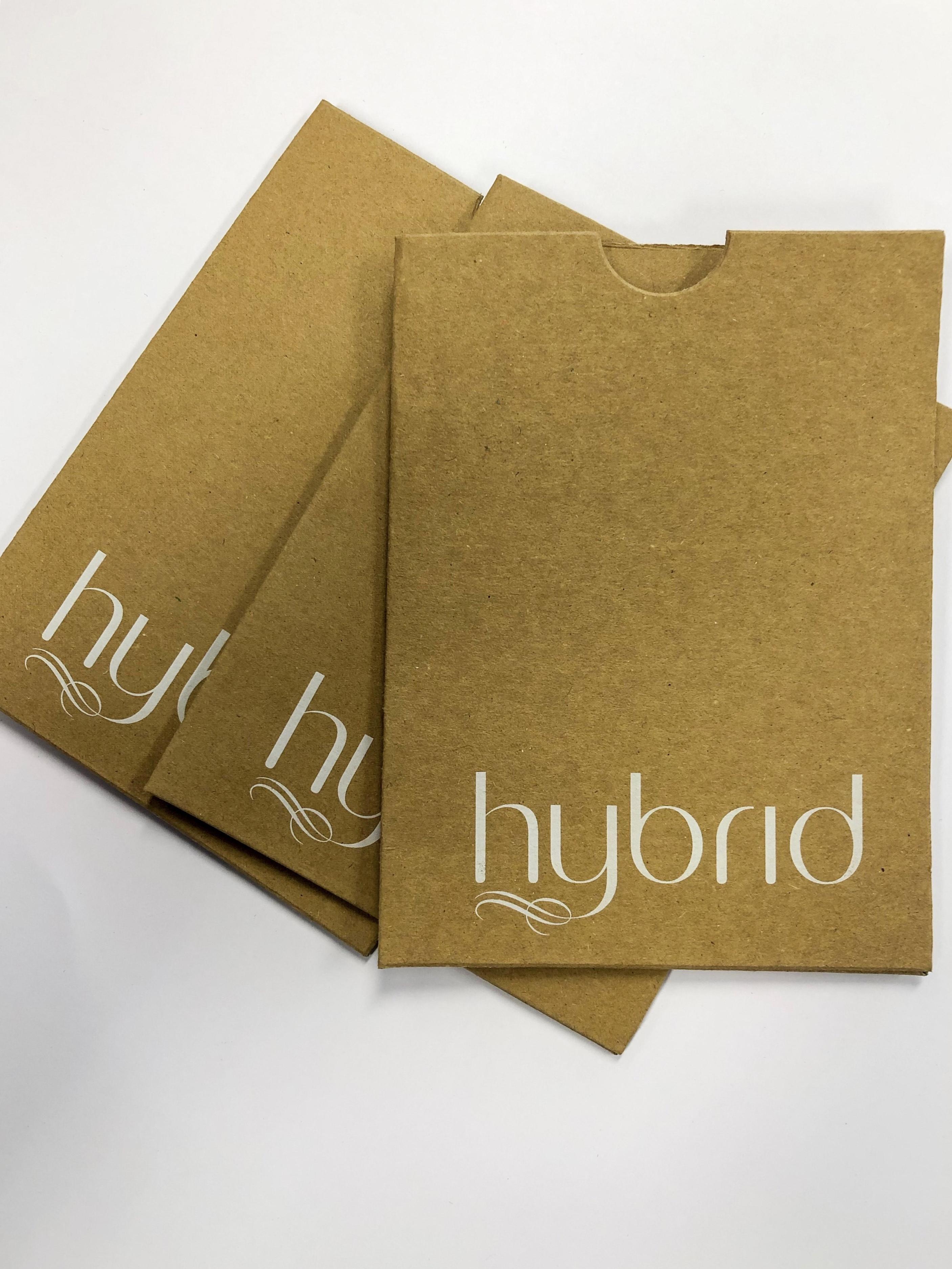 white ink printing on die cut envelope
