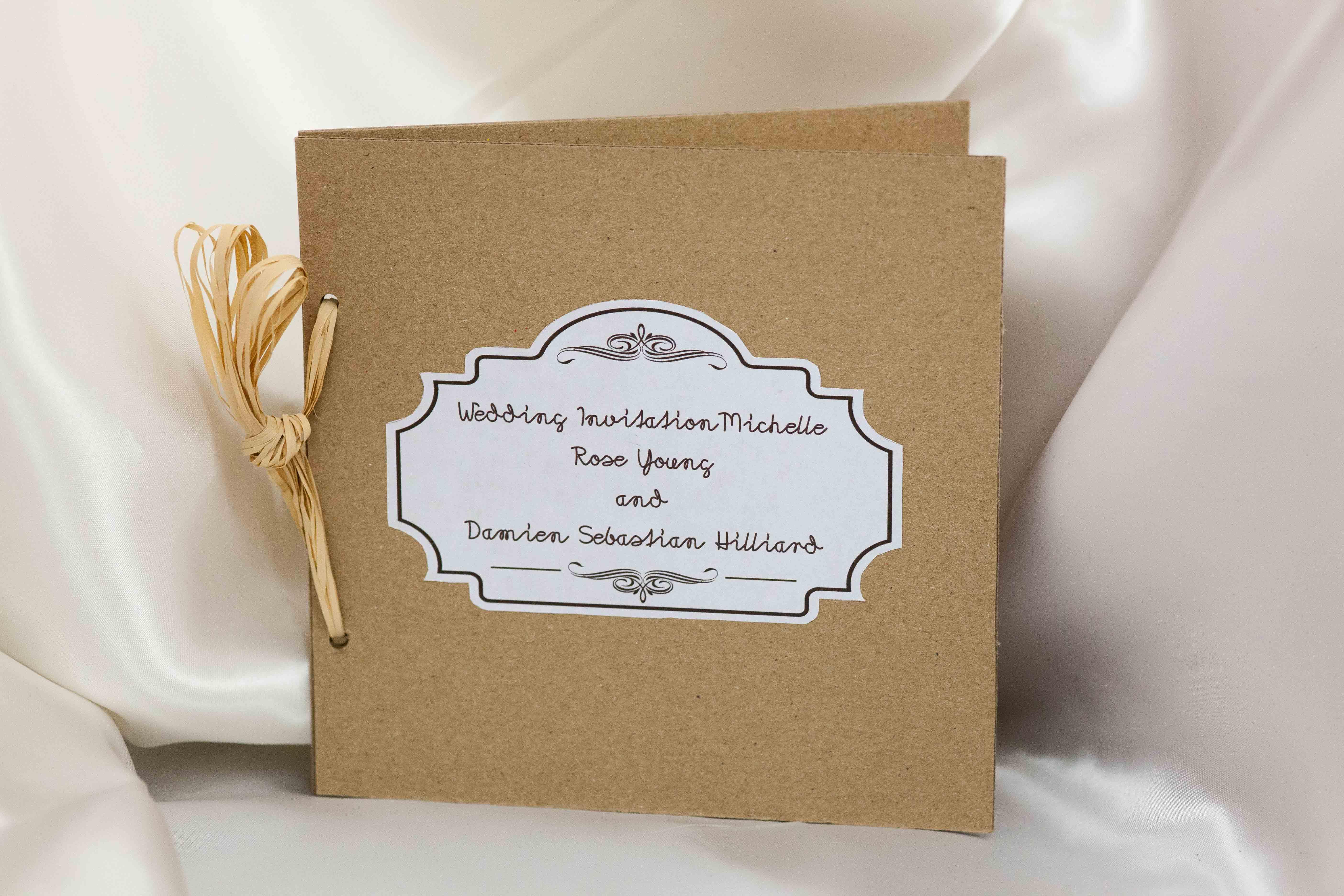 Garden Wedding Invitation Set