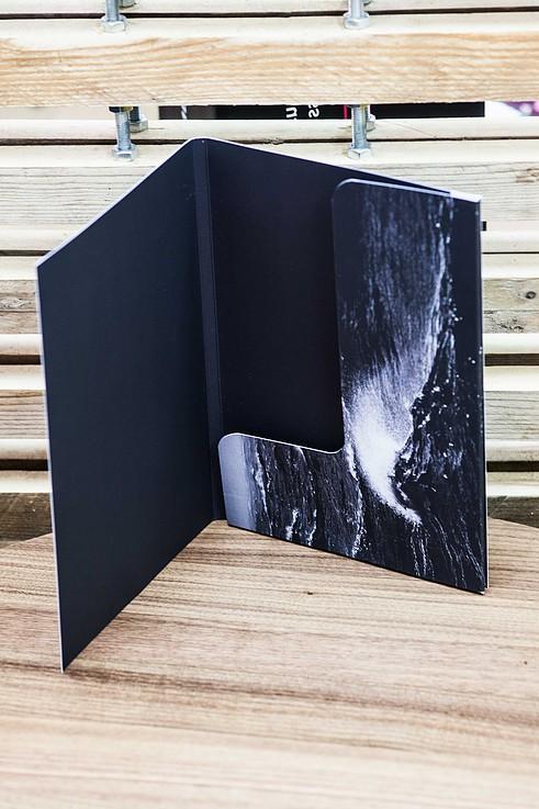 bespoke folder velvet laminate