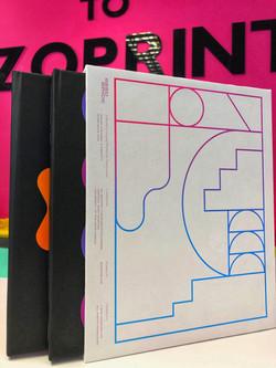 Slip case for hard cover books
