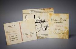 Invitations of LD Canvas paper